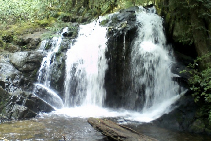 Homesite Creek Waterfall