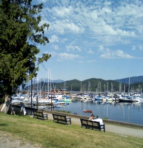 Gibsons Harbour from Winegarden Park