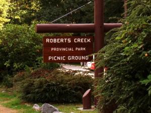 Roberts Creek Provincial Park Picnic